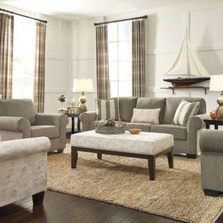 Мягкий мебельный комплект Эшли для классической гостиной