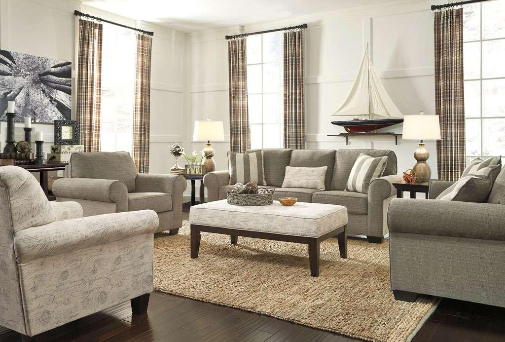 Мягкий комплект мебели в гостиную Эшли