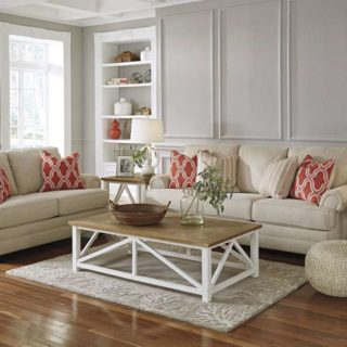 Комплект мягкой мебели в стиле Прованс.