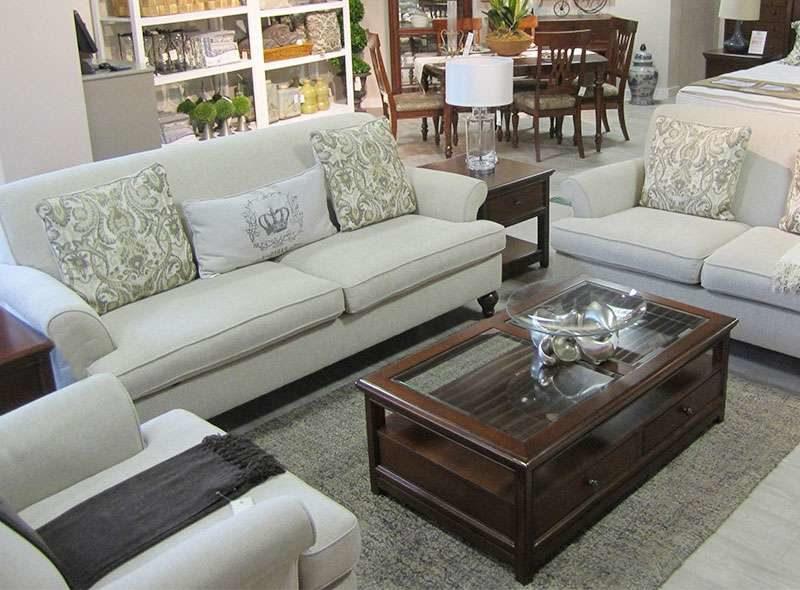 Классический мягкий диван с креслами элит класса Эшли
