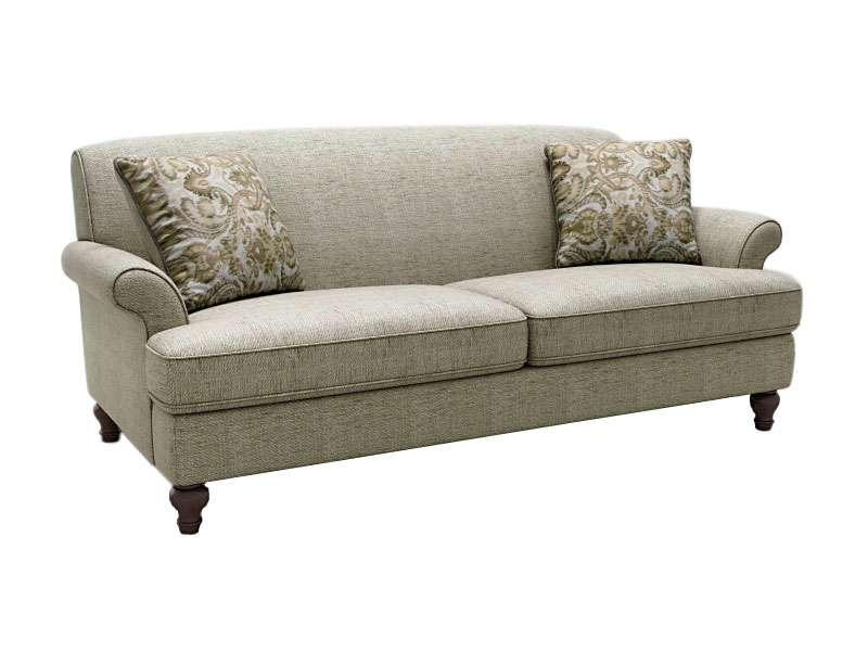 Мягкий светлый диван Эшли