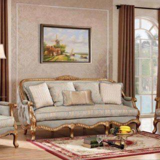 Классический диван  в цвете антик вип-класса Сильвио