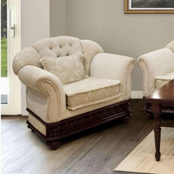 Большое кресло в мягкий комплект Ана. Румыния