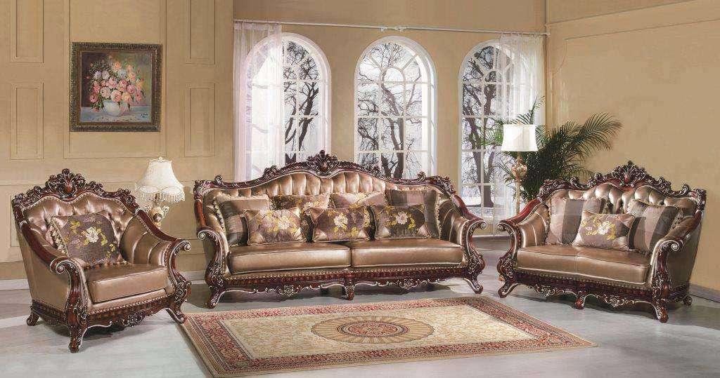 Комплект мягкой резной мебели Султан.