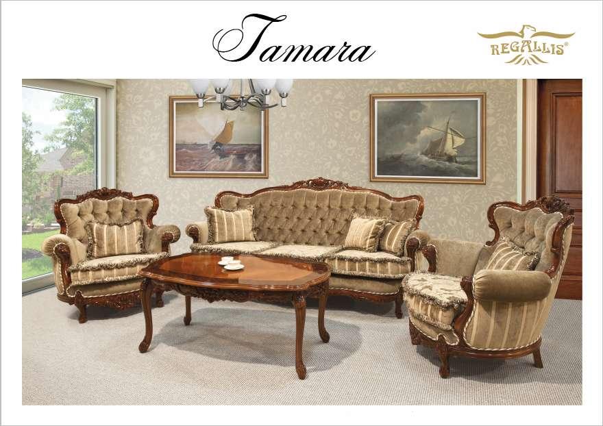 Мягкий мебельный гарнитур в стиле классицизм Тамара