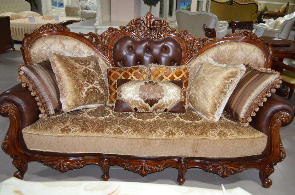 Кожаный диван Канцлер