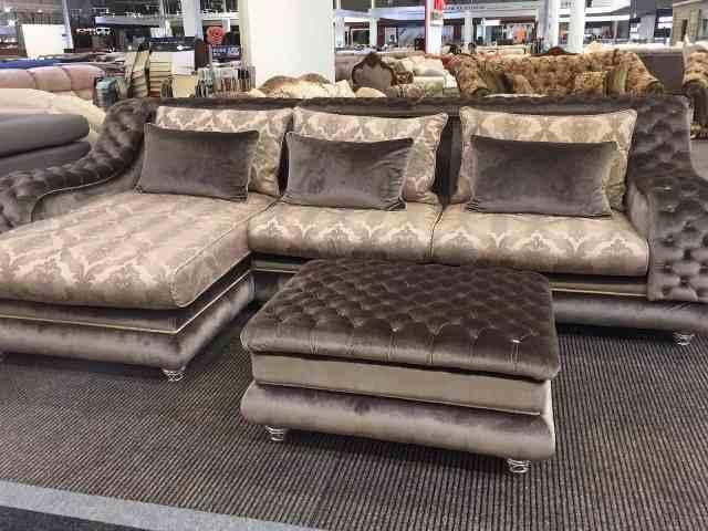 Угловой диван из Элитной коллекции Амалфи.