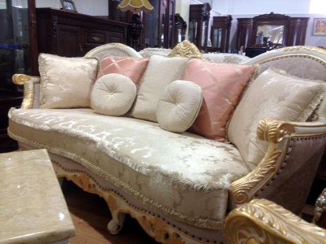 классический белый диван Виктория Премиум класса