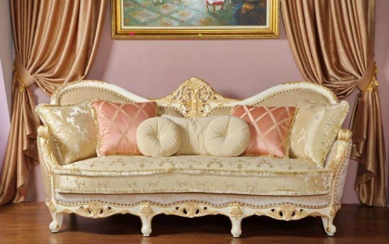 Диваны премиум класса Виктория в Киеве: мягкая мебель Frandiss