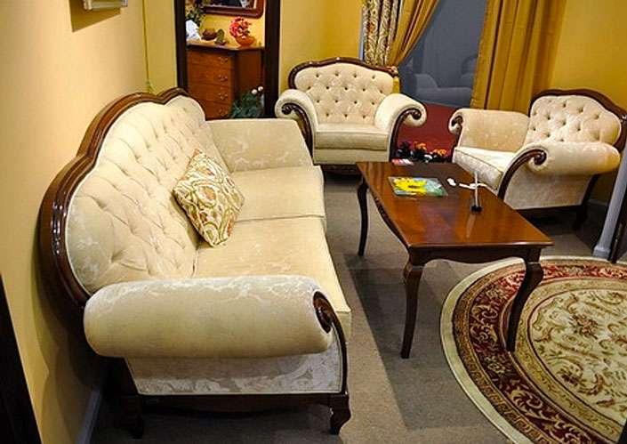 Мягкий диван с креслами Вивере. Румыния