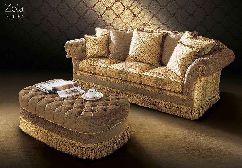 классический диван зола