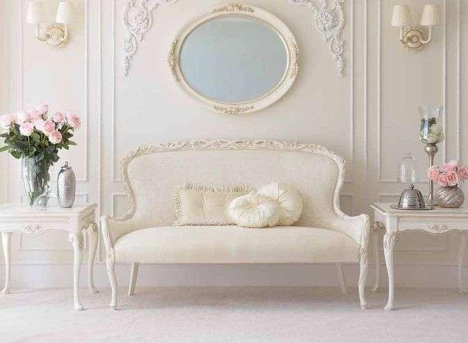 Белый диван в классическом стиле 3042 SAVIO FIRMINO