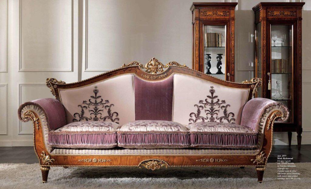 Купить королевский комплект мягкой мебели 2577 CEPPI STYLE