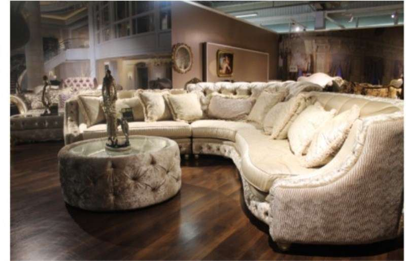 Белый классический диван Панамера, Америка