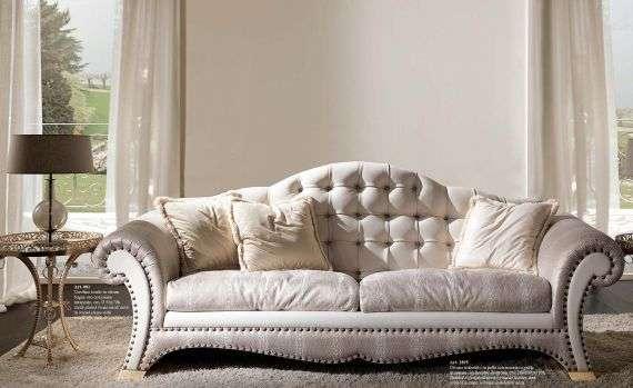 Дорогой диван из крокодильей кожи 2895, Италия