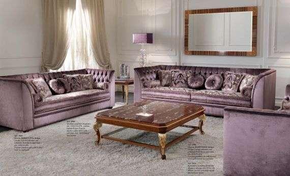 Роскошный комплект мягкой мебели 2985 из италии