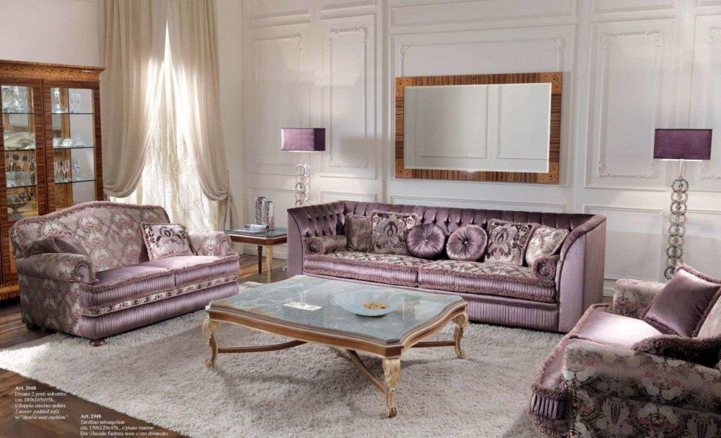Дорогой комплект мягкой мебели 2985