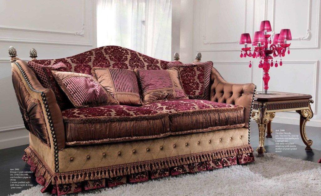 Мягкий итальянский диван 2991 CEPPI STYLE