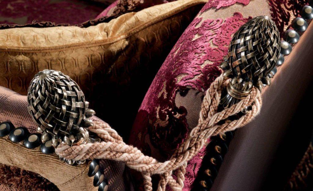 Отделка и ткани дивана 2991 Италия