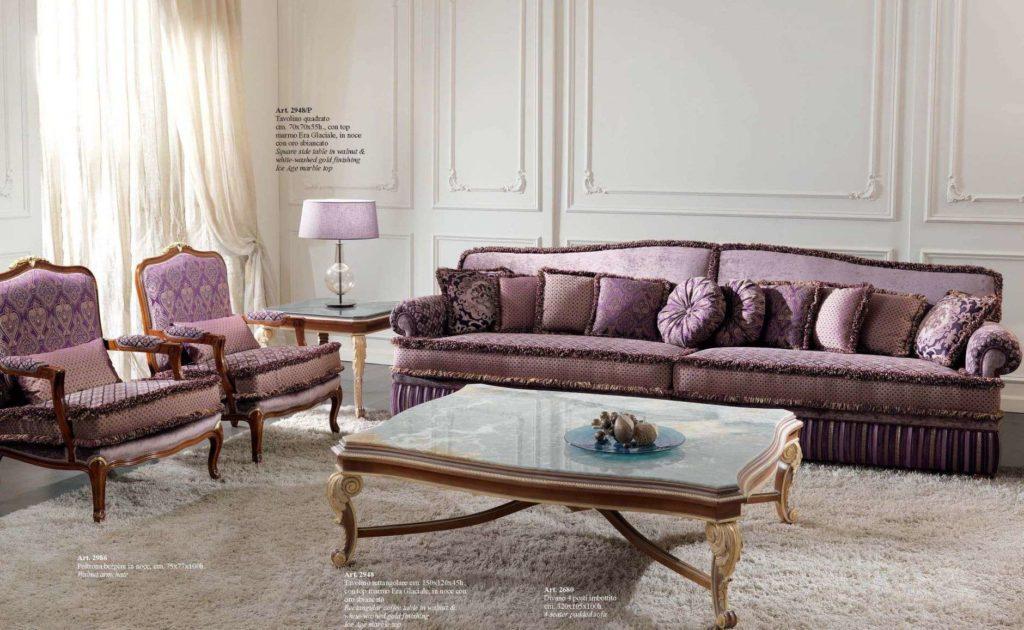 Элитный четырехместный дорогой диван 2948 Италия