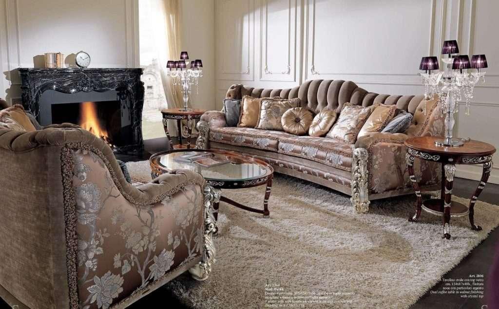 Итальянский диван в стиле Барокко