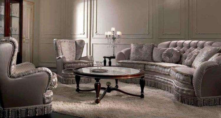 Белый диван Сappi Style 2683