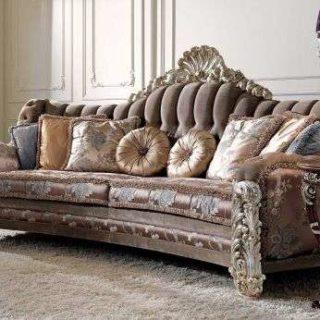 Итальянский диван 2760 в стиле Барокко. Производитель CEPPI STYLE