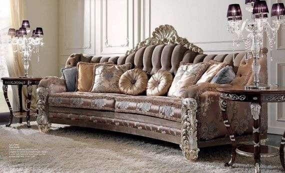 Итальянский диван 2760 в стиле Барокко от фабрики CEPPI STYLE