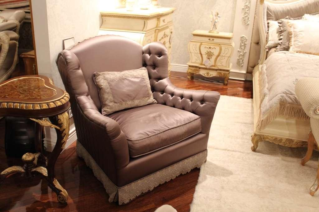 Классическое кресло в комплект мебели Гермес
