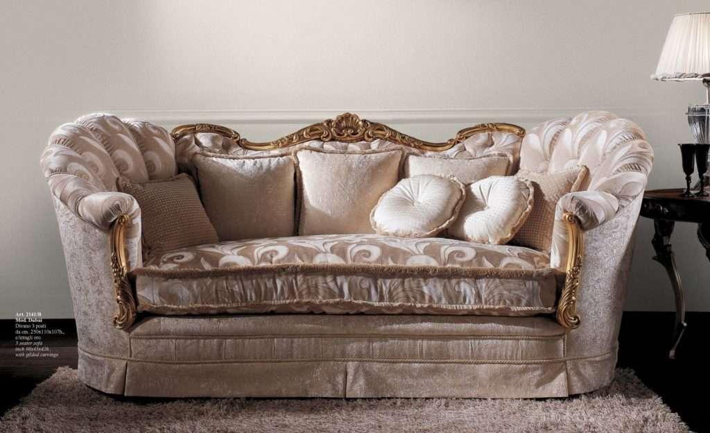 Итальянский белый диван 2141 от фабрики Cappi Style