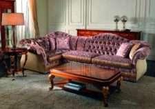 Итальянский угловой диван 2877 от фабрики CEPPI STYLE. Италия
