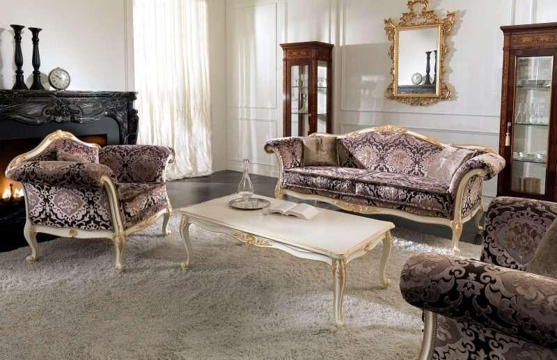 Комплект мягкой Итальянской мебели 2686