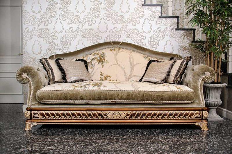 Большой дорогой диван Элит класса. Италия