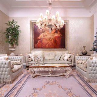 Эксклюзивный прямой диван Регенси, Италия
