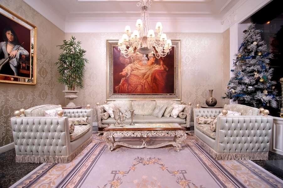 Прямой дорогой итальянский диван Регенси