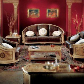 Диван с креслом в стиле Арт-деко Socci Anchise Prestige 540