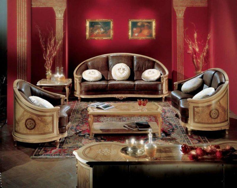 Купить Диван с креслом в классическом стиле Socci Anchise 540