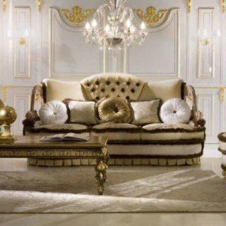 Шикарный диван в классическом стиле Boudoir. Фабрика Socci Anchise