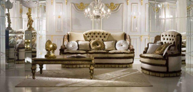 Купить Шикарный диван в классическом стиле Boudoir Socci Anchise
