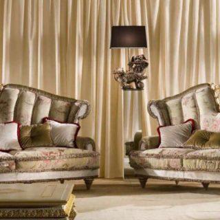 Итальянский диван с высокой спинкой Socci Anchise Excelsior