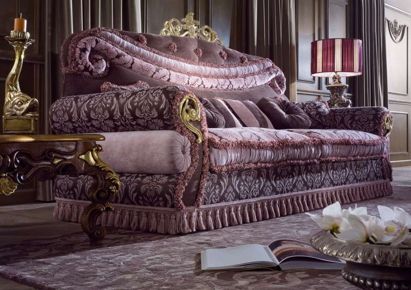 Мягкий диван в классическом стиле Socci Anchise Imperial