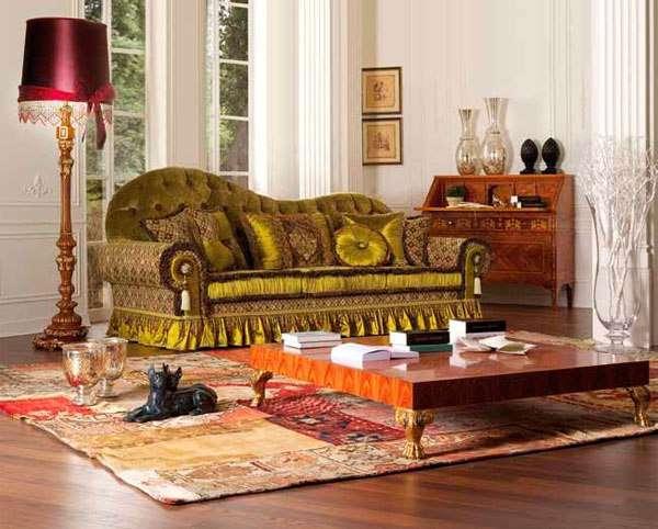 Купить Диван Aldebaran оливкового цвета от Asnaghi Interiors в Киеве