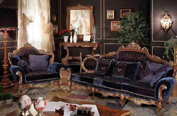 Итальянский классический диван Celvino Asnaghi Interiors