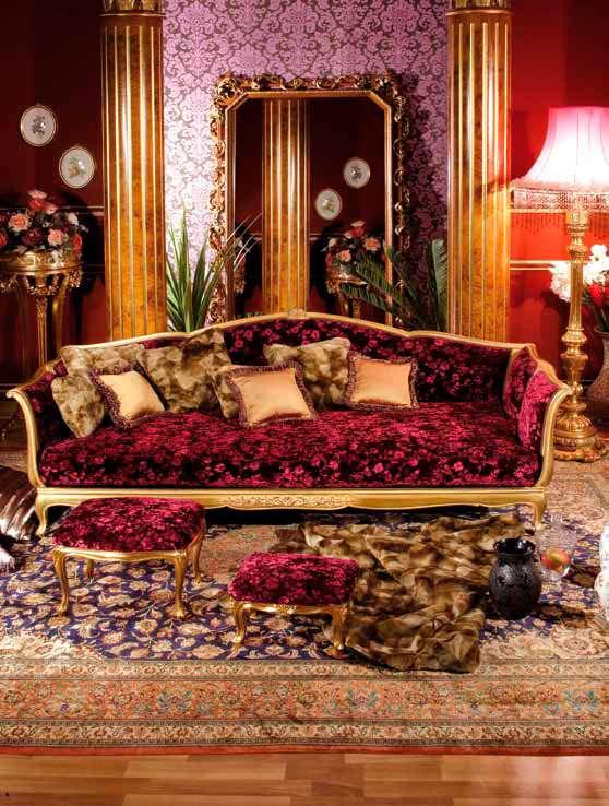 Большой элегантный диван Asnaghi Interiors