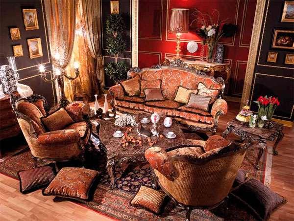 Шикарная мягкая мебель Gauguin Asnaghi Interiors
