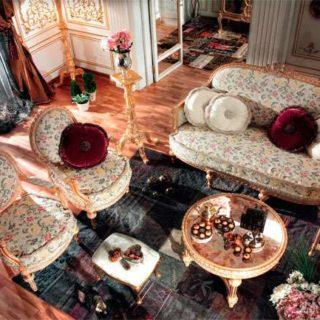 Эксклюзивный диван в стиле Арт-деко Clavier от Asnaghi Interiors. Италия