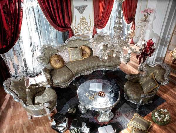 Купить эксклюзивную мягкую мебель Fabiens от ASNAGHI INTERIORS