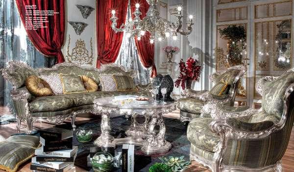 Эксклюзивный диван в классическом стиле от производителя Asnaghi Interiors