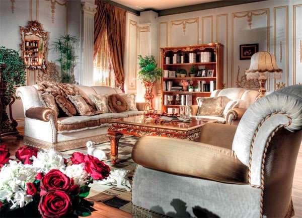Мягкий итальянский диван из массива Mister от Asnaghi Interiors.