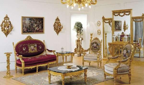 Диван в стиле Ампир Asnaghi Interiors